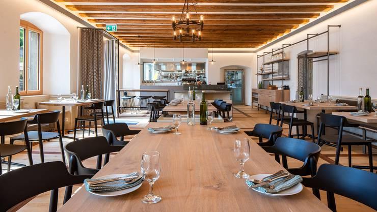 Im Culinarium Alpinum in Stans kann man künftig nicht nur essen, sondern auch Kurse zur Vielfalt von alpinen Produkten besuchen.