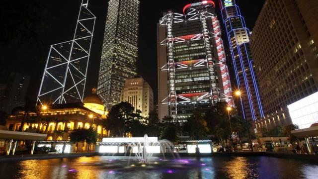 Hochhäuser im Zentrum Hongkongs (Archiv)