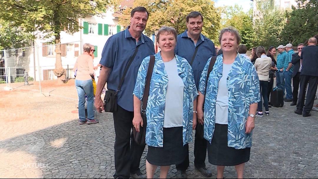 Seit 26 Jahren: Zwillinge mit Zwillingen verheiratet
