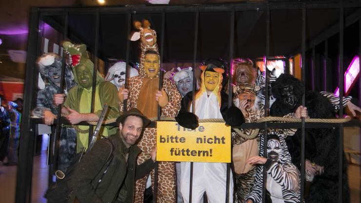 Am Maskenball in Lüterkofen herrscht immer ausgelassene Stimmung. (Archivbild von 2019)