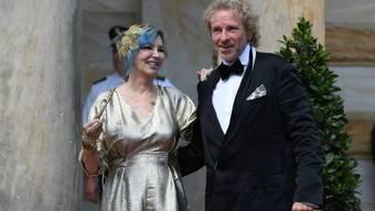 Thomas Gottschalk und seine Frau Thea Gottschalk, hier an den Bayreuther Festspielen 2018, haben sich im März 2019 getrennt. (Archiv)