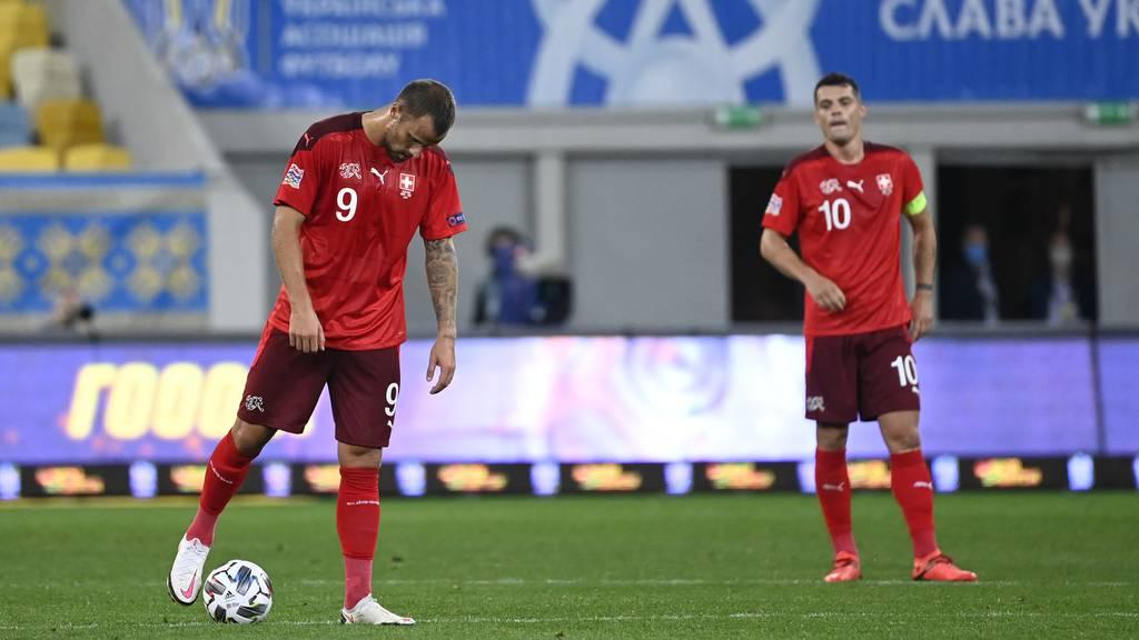 1:2 – Schweizer Nati verliert gegen die Ukraine