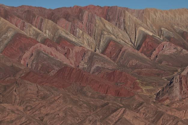 Der Cerro de 14 Colores, auch Serranias del Hornocal genannt, ist ein  Wunder der Natur.