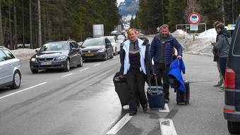 Im österreichischen Touristenort Ischgl infizierten sich viele Menschen mit dem Coronavirus.