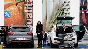 Wegen Schweizer Einkaufstouristen: Parkplätze in Waldshut sind Mangelware.