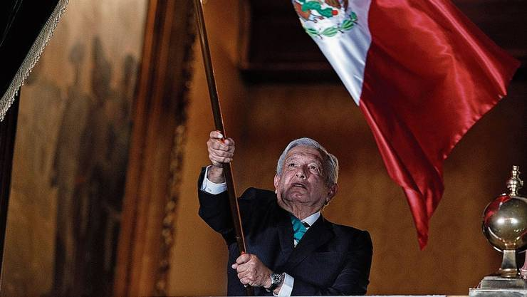 Mexikos Präsident Andres Manuel López Obrador will aufräumen, radikal.