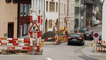 Die Vorarbeiten für die Sanierung der Rheingasse in Kaiserstuhl sind angelaufen. Vom 8. April bis 2. August wird der Grenzübergang gesperrt. Angelo Zambelli