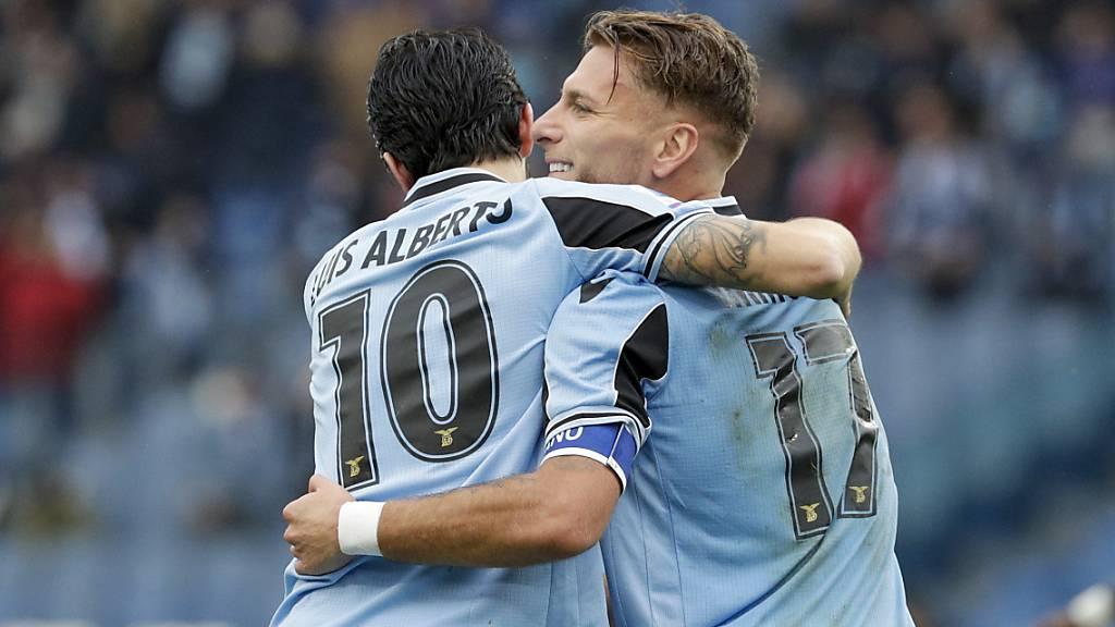 Lazio Rom übernimmt die Tabellenführung