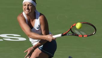 Timea Bacsinszky stieg souverän ins Turnier von Miami ein