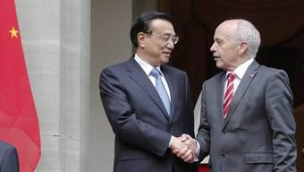 Hoher Besuch aus China: Regierungschef Li Keqiang bereist die Schweiz