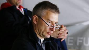 Ville Sirén bei der Arbeit. Als Talentspäher verfolgt er die U18-WM.