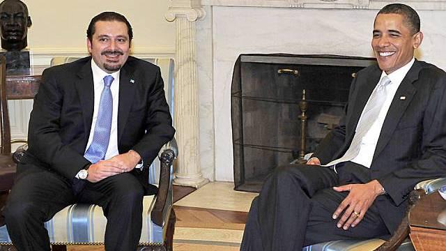 Obama und Hariri beraten über Atomstreit