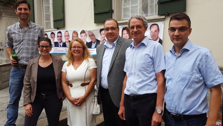 v.l.n.r.: Kaspar Schoch, Jeanine Glarner, Rita Eigensatz-Staubli, Stephan Weber, Martin Steinmann, Pascal Johner.