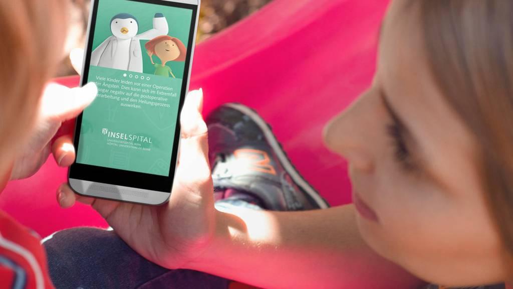 Diese App soll Kindern die Angst vor einer Operation nehmen