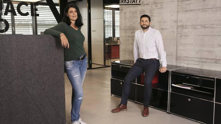 Das Geschwisterteam: Rita und Luca Rubicondo.