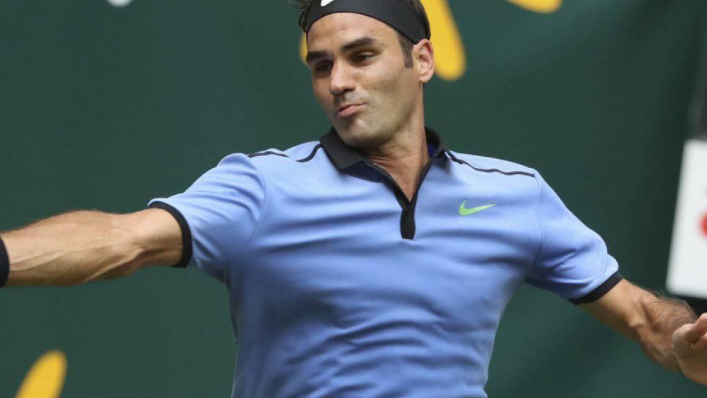 Roger Federer setzt einen Meilenstein nach dem anderen