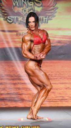 So gestählt zeigt sich Fuchs an den Body-Contests.