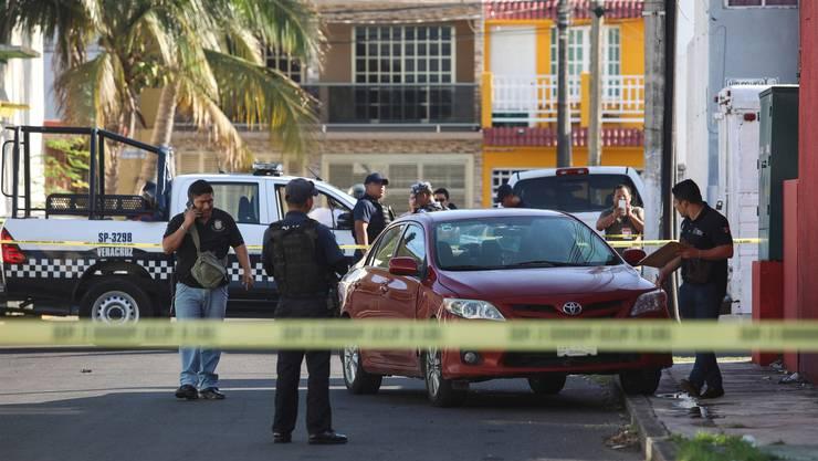 Leider alltäglich: Bewaffnete haben in Boca del Rio den Journalisten Marcos Miranda gestoppt und entführt.