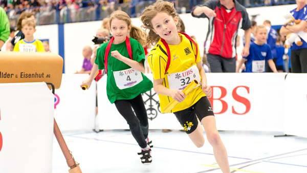 Unter anderem dank dem UBS Kids Cup gibt es wieder mehr Nachwuchs im Schweizer Leichtathletik.