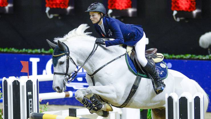 Eine hohe Hürde genommen: Flaminia Straumann ist ins Elitekader aufgestiegen.Katja Stuppia