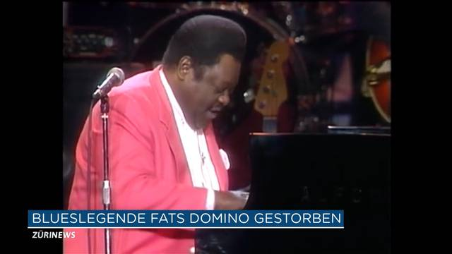 Blues Legende Fats Domino gestorben