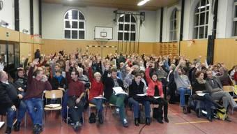 Eine Mehrheit der Anwesenden sagte Ja zum Fusionsvorvertrag