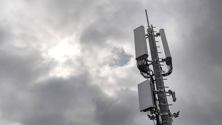 Grenzwerte eingehalten. Im August 2019 wurde das 3'500 MHz-Band bereits genutzt.