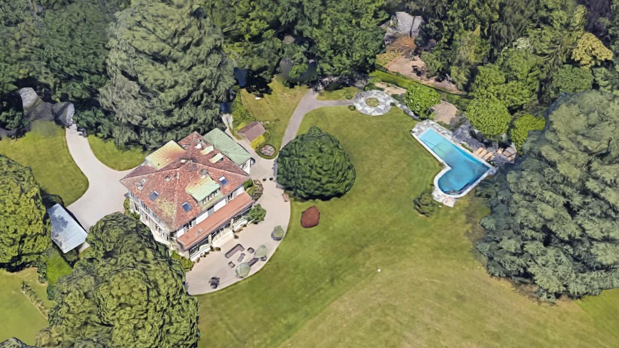 Gemäss «20 Minuten» ist das die neue Villa von Robbie Williams.