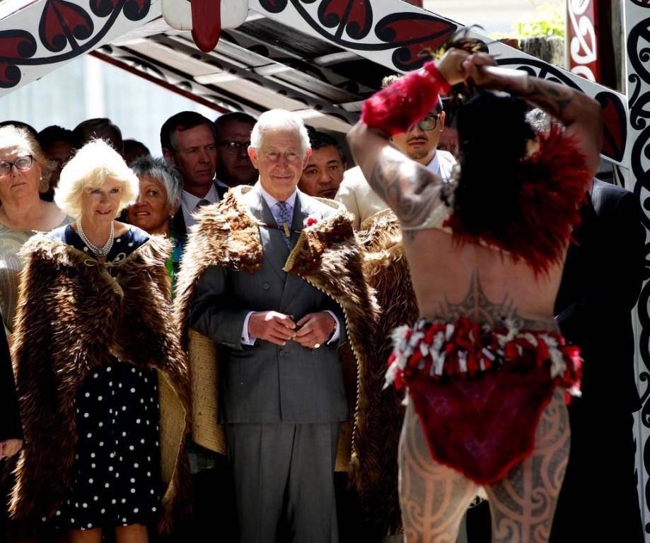 Prinz Charles im Maori-Königreich (© Keystone)