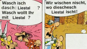Auch bei Asterix und Obelix geht es um die Wahlen.