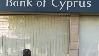 Eine Filiale der Bank of Cyprus (Archiv)