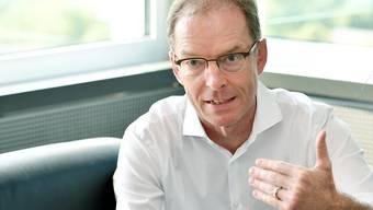 Daniel Leupi (Grüne), Vorsteher des Finanzdepartements, möchte an dem vom eidgenössischen Parlament festgelegten Kantonsanteil an der direkten Bundessteuer festhalten. (Archiv)