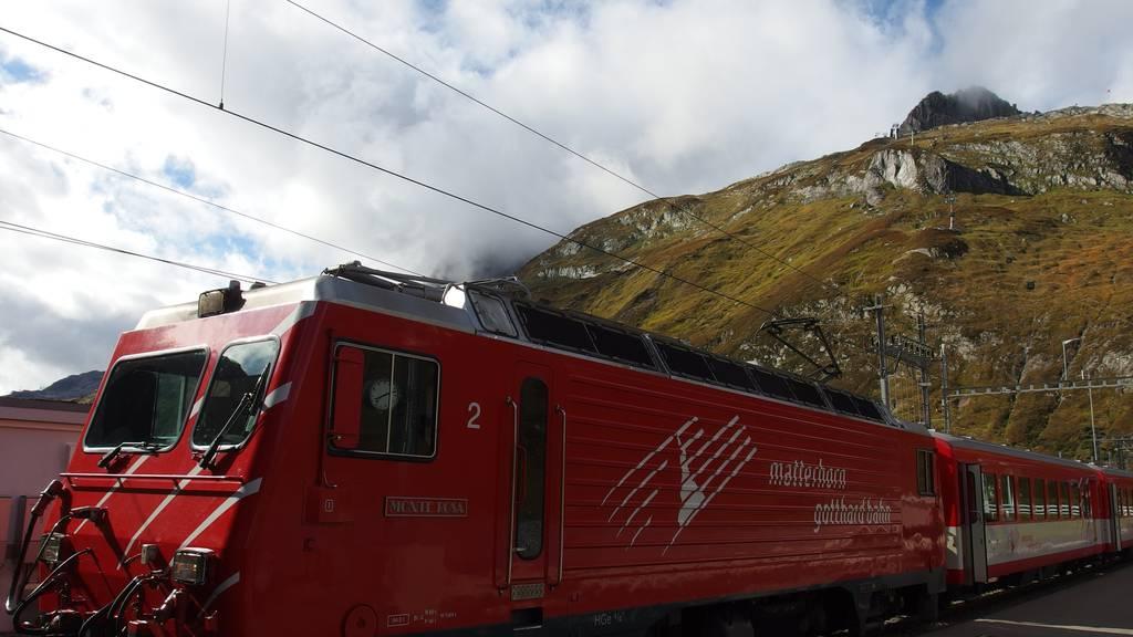 Bahnhof Göschenen als Tourismus-Hub