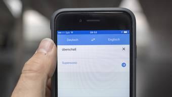 """""""Google Translate"""" soll lernen, über den einzelnen Satz hinauszuschauen."""