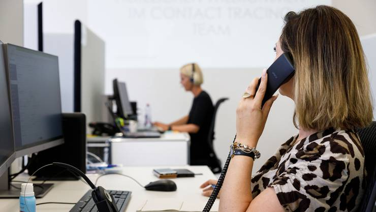 Personen, welche vom Contact-Tracing kontaktiert werden, zeigen sich kooperativ.