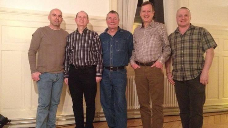 Der Vorstand der Männerriege Weiningen