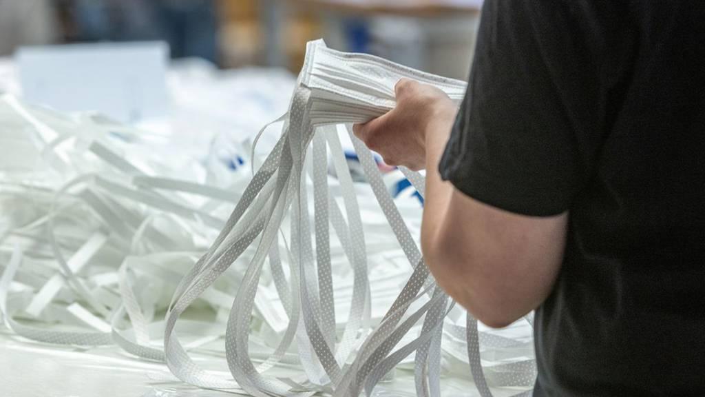 Kostenlose Hygienemasken für Zuger Betriebe