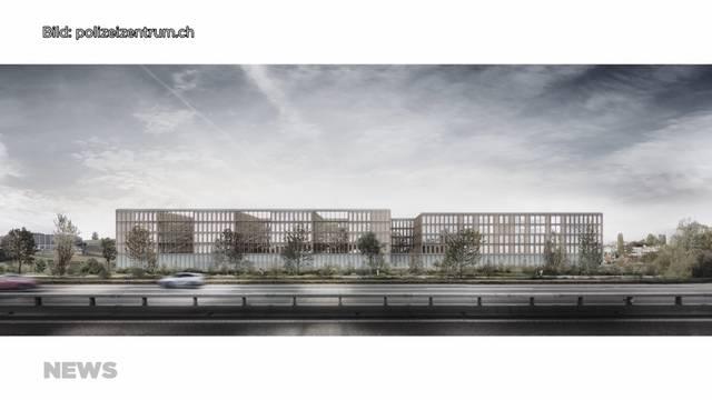 Kantonspolizei stellt neues Polizeigebäude vor