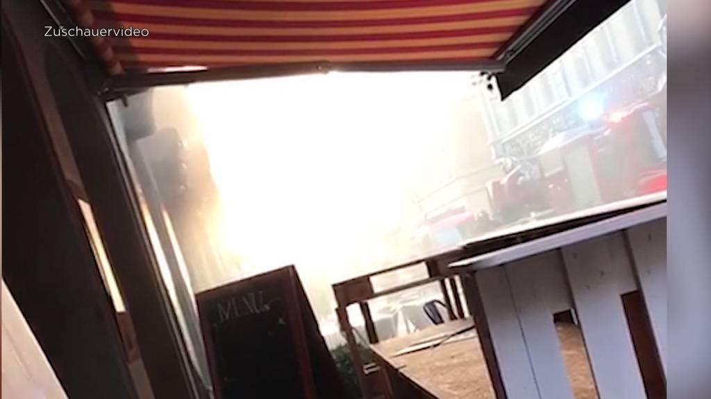 Feuer im Burgdorfer Restaurant OSO