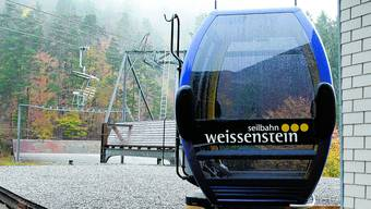 Hauptsorge Tourismusdirektor: Jürgen Hofer wie Stadtpräsident Kurt Fluri  sehen den Bau der neuen Gondelbahn auf den Weissenstein als dringlich an.