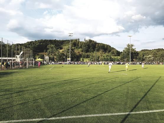 Vor gut 600 Zuschauern auf der Gränicher Zehndermatte: Das Testspiel zwischen Aarau und Solothurn