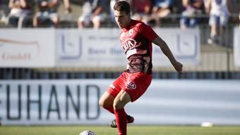 Giuseppe Leo und sein FC Aarau müssen im Spiel gegen Chiasso gewinnen.