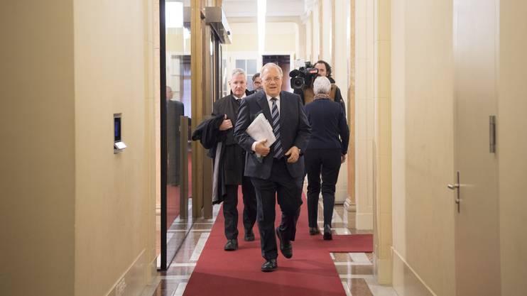 Im Februar traf sich Bundesrat Johann Schneider-Ammann beim Mercosur-Agrar-Gipfel mit den südamerikanischen Mercosur-Ländern in Bern.