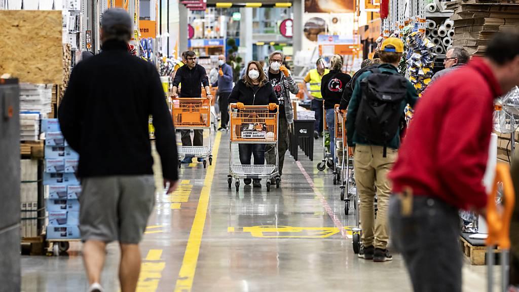 Fehlende Einkaufstouristen aus der Schweiz sorgen für Minus