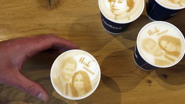 Kalter Kaffee: Trotz grossem Brimborium ist die royale Hochzeit von Prinz Harry viele Briten egal. (Symbolbild)