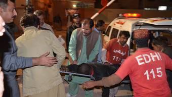 IS-Attacke auf eine Polizeiakademie in Quetta, Pakistan