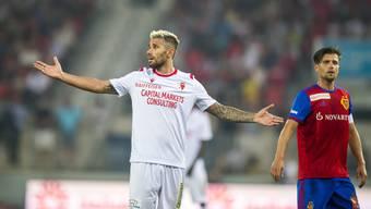 Der prominenteste Transfer vor der Saison verschuldete die Basler Führung: Valon Behrami.