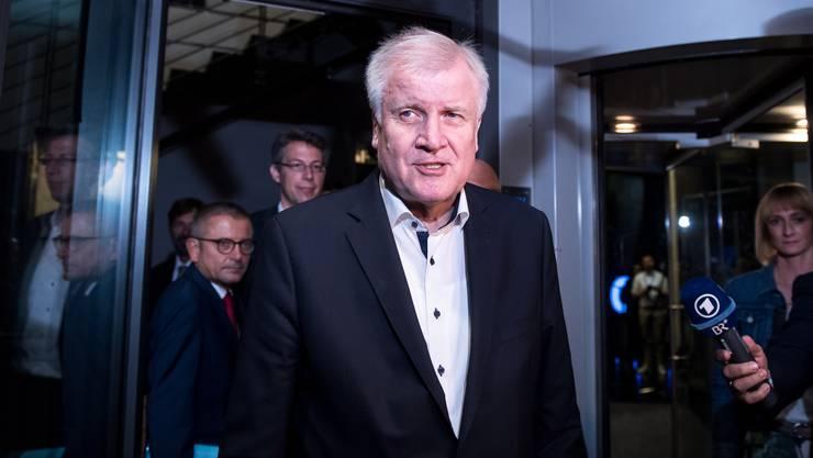 Der deutsche Innenminister Horst Seehofer steht derzeit im Zentrum des Asylstreits.