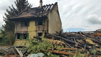 Grossbrand Bauernhof Zeiningen – der Tag danach