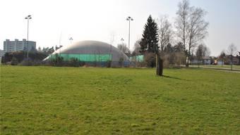 Beliebter Fleck Erde: Auf dem Gebiet Grindacher in Möhlin sind gleich drei Bauprojekte in Planung.